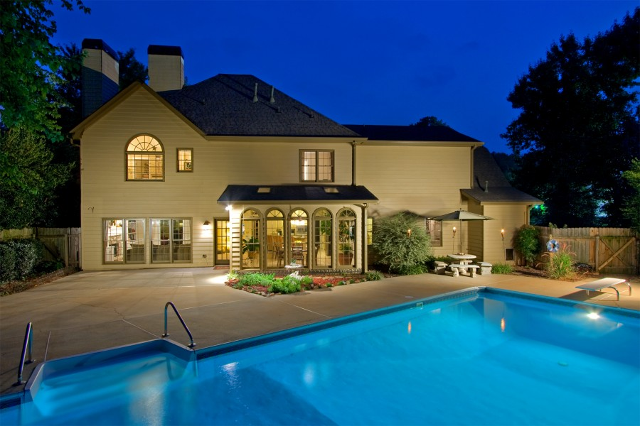 Houses For Sale Pool Of Inground Pool Homes For Sale In Marietta Ga Real Estate