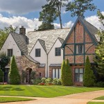 Daytime Exterior photo of Tudor Style Home in Atlanta GA