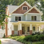 Daytime Exterior photo of Craftsman Style Home Atlanta