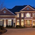 Twilight Exterior photo of Luxury Home for Sale in Atlanta