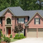 Exterior Front Elevation of Brick Home in Atlanta GA