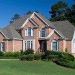 Exterior Real Estate photo of Luxury Brick Home in Canton GA