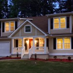 Twilight photography of Marietta Home Exterior