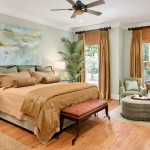 Interior photography of Master Bedroom in Atlanta Luxury Home