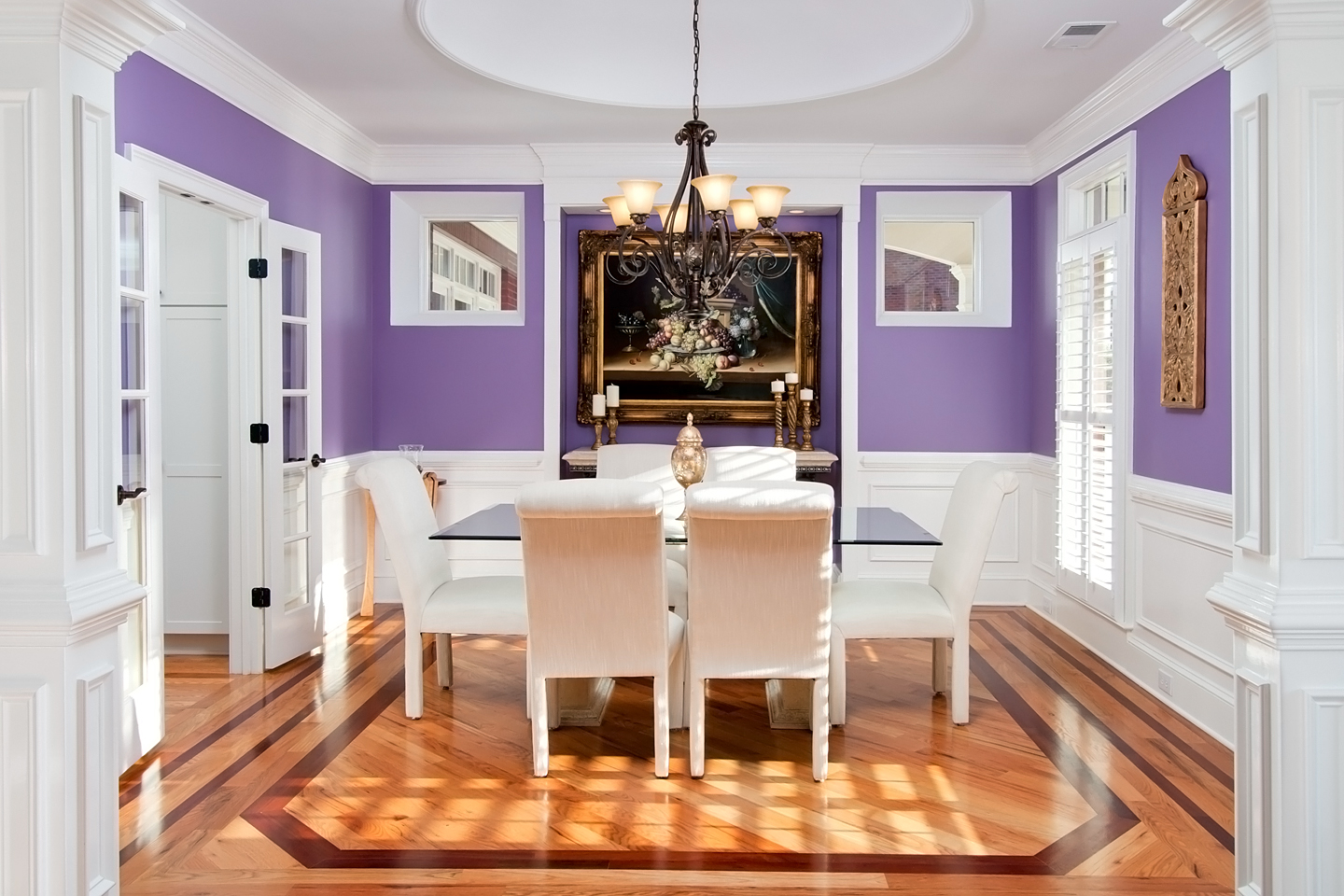 Interior Real Estate Photo Of Formal Dining Room In Marietta Home