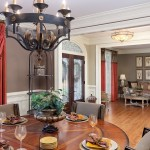 Professional Photography of Dining Room in Atlanta Home