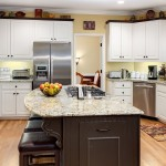 Marietta Kitchen with White Cabinets and Island Interior Photography