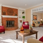 Marietta Living Room Interior Real Estate Photography
