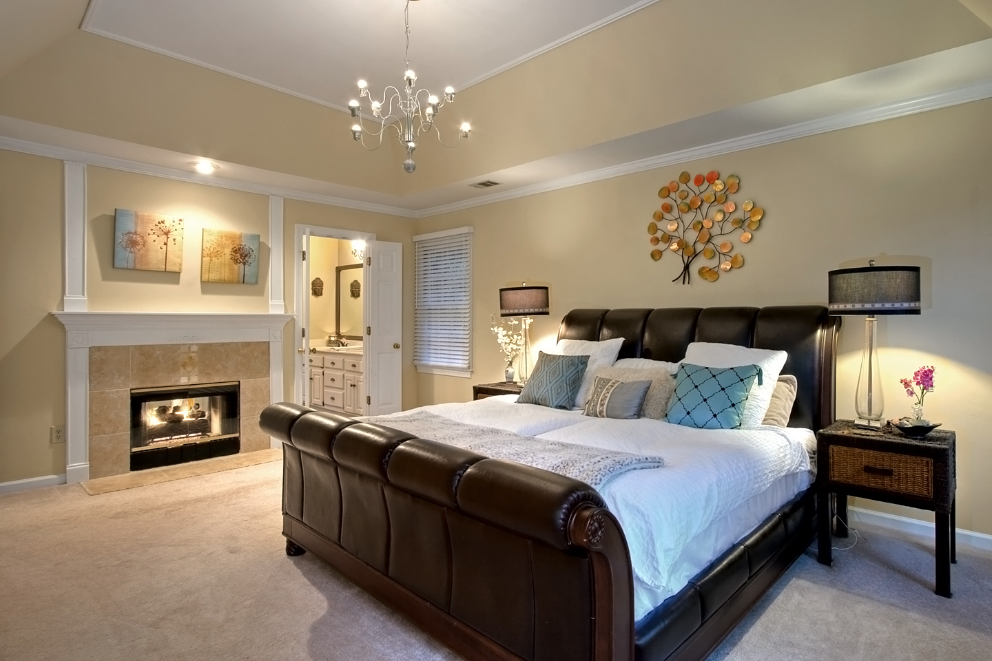 Home Interior Pictures For Sale Part - 42: Interiors Photography Of Master Bedroom In Marietta