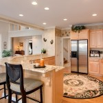 Kitchen and Living Room Real Estate photography in Smyrna GA