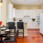 Marietta Real Estate Kitchen with White Cabinets