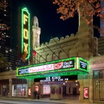Atlanta Real Estate Photography of Fox Theater at Night