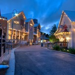 Twilight Photography of Baytowne Wharf Village
