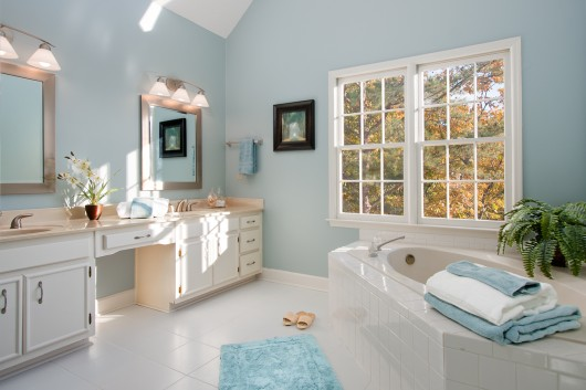 Master Bath Home Staging and Real Estate Photography Marietta Homes for Sale