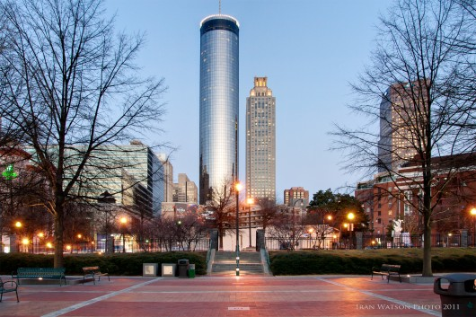 Atlanta Real Estate Photography of the Westin Peachtree Plaza Hotel