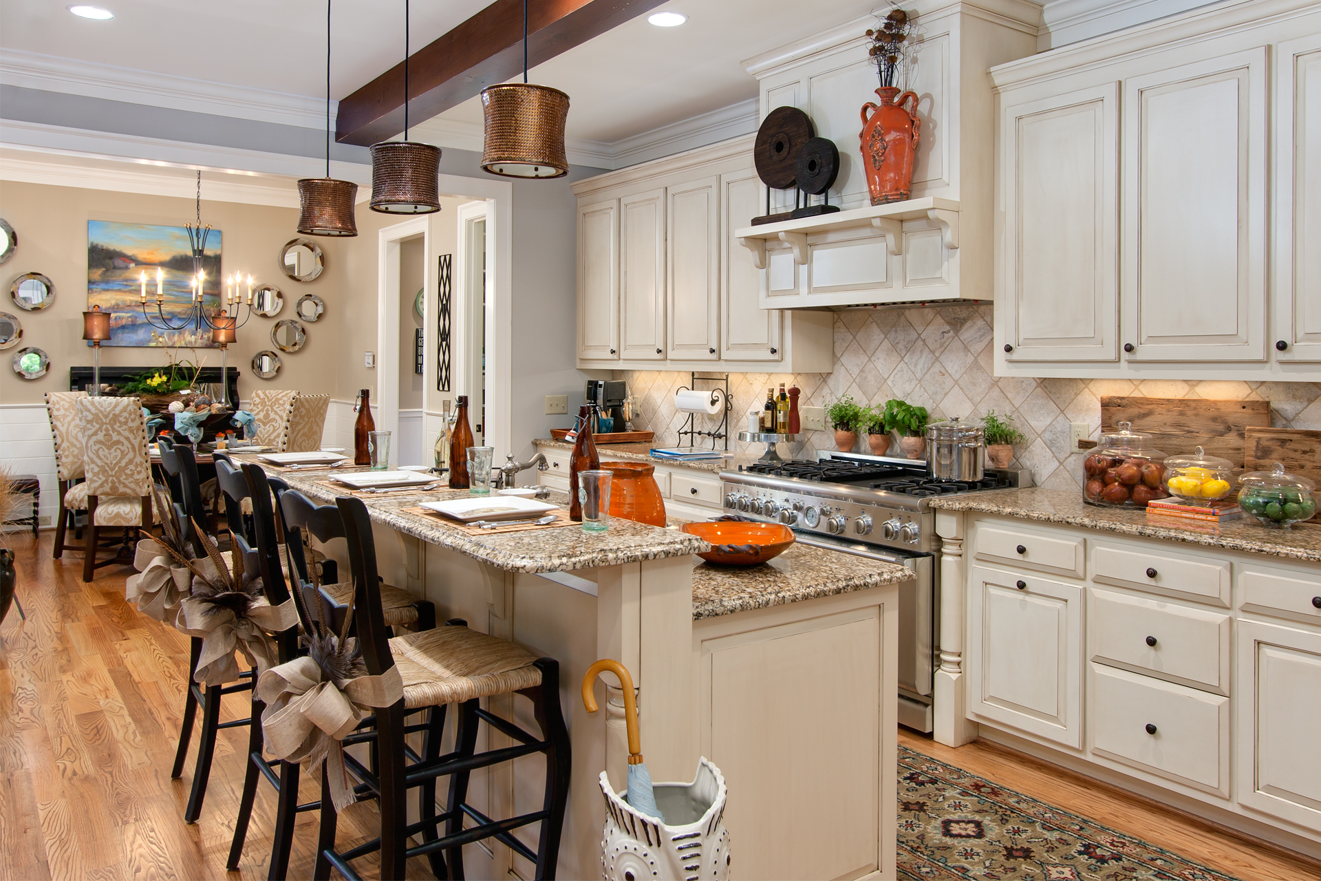 Marietta GA Art Design Showhouse Kitchen By Atlanta Real Estate Photographer Iran Watson