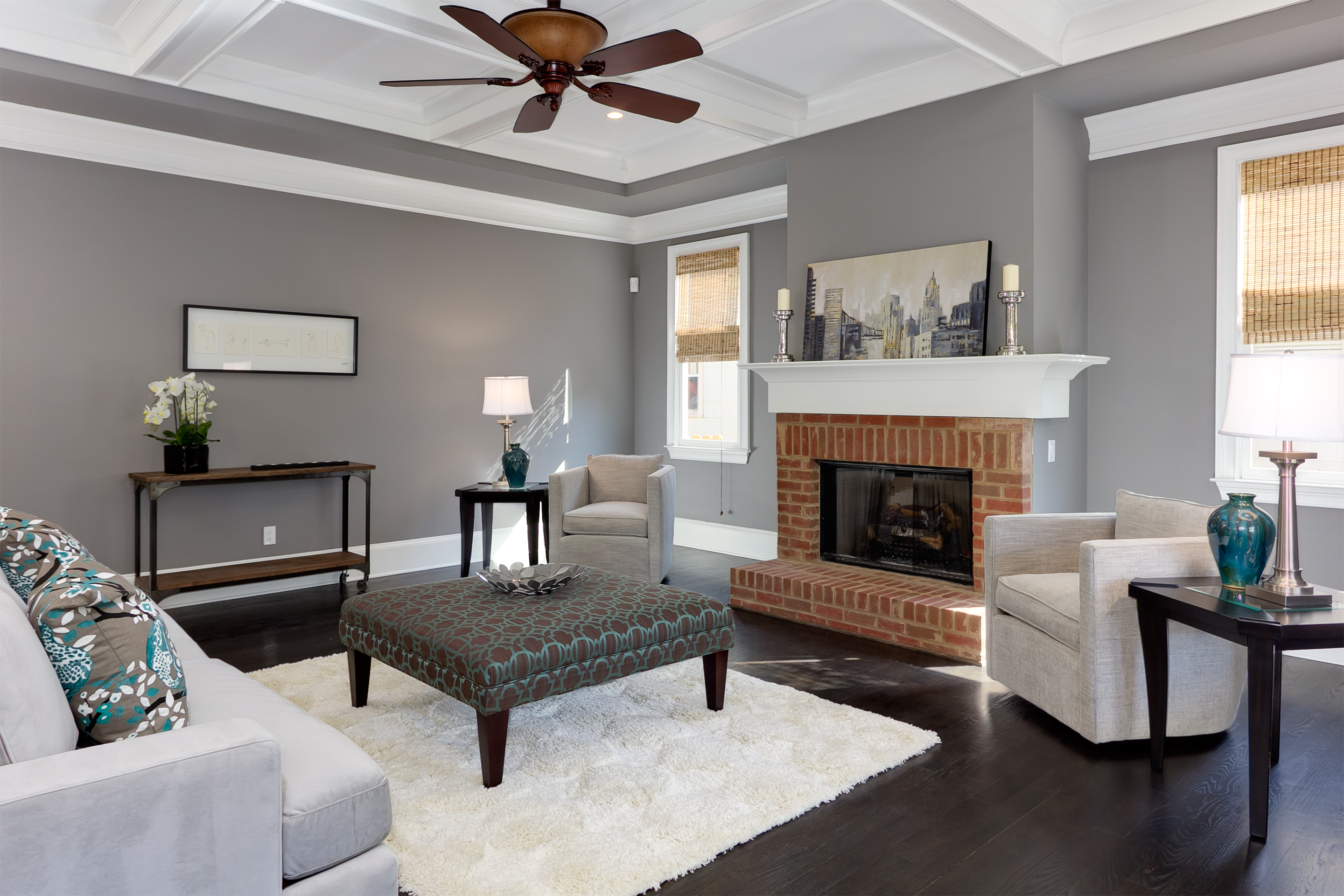 Blog atlanta real estate photographer iran watson photo - Decoration salon blanc et gris ...