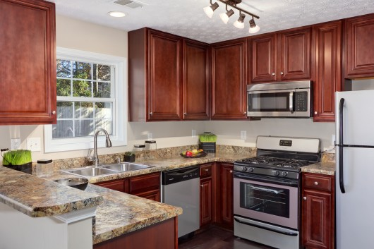 Interior photography of a residential Kitchen in Cobb County