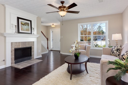 Interior photography of homes for sale in Cobb County