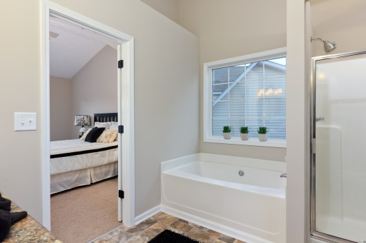 Master Bathroom photography in Austell GA home for sale