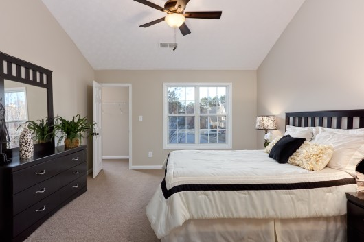 Master Bedroom photography of Atlanta area real estate