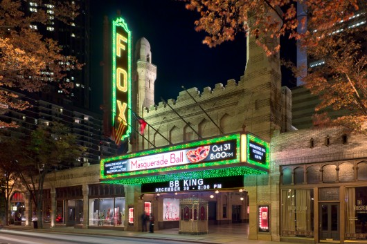 Atlanta Fox Theater commercial Night photography