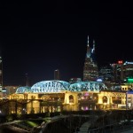 Night Photography of Nashville TN Skyline